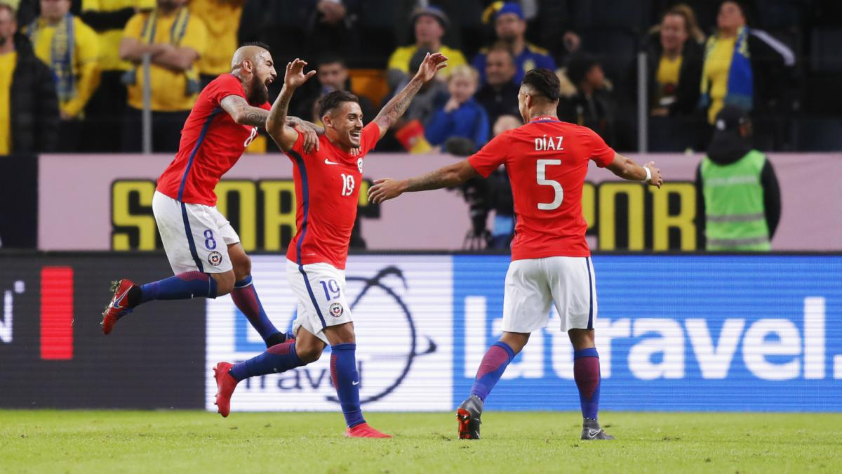 Sweden 1 Chile 2: Bolados strikes late winner on debut