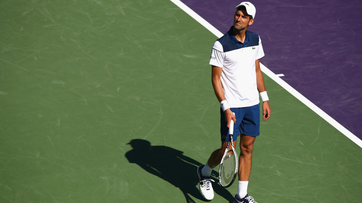 Djokovic struggles continue as Cilic, Dimitrov progress