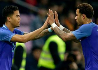 Justin Kluivert thrilled with Netherlands debut
