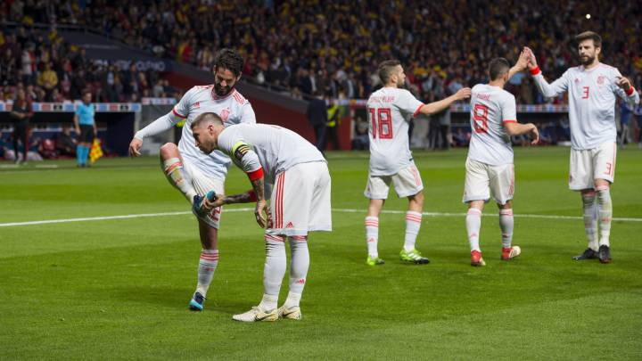 Spain 6 1 Argentina Goals As It Happened Report As Com