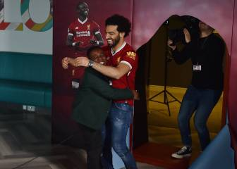 Salah delights Liverpool school kid match commentators