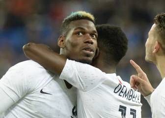 Dembélé, Pogba subjected to monkey chants in Russia