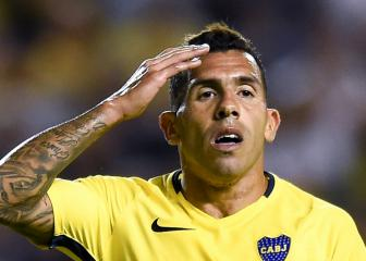 Carlos Tévez denies picking up calf injury in prison kick-about