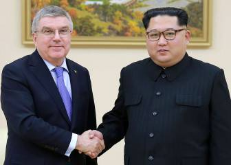 IOC Chief Thomas Bach says North Korea will take part in next two Olympics
