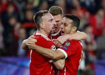 Bayern benefit from good fortune to take control of tie