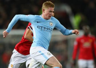 He's up there with me - De Bruyne votes for Salah as PFA Player of the Year