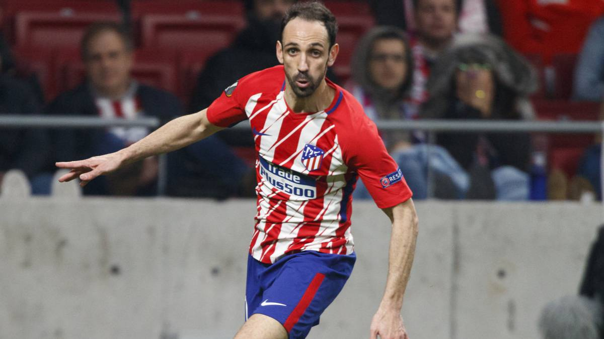 Atlético Madrid: Juanfran ready to return in Europa League