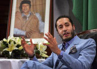 Libyan court finds Gaddafi's son not guilty of murdering former football star Al-Riani