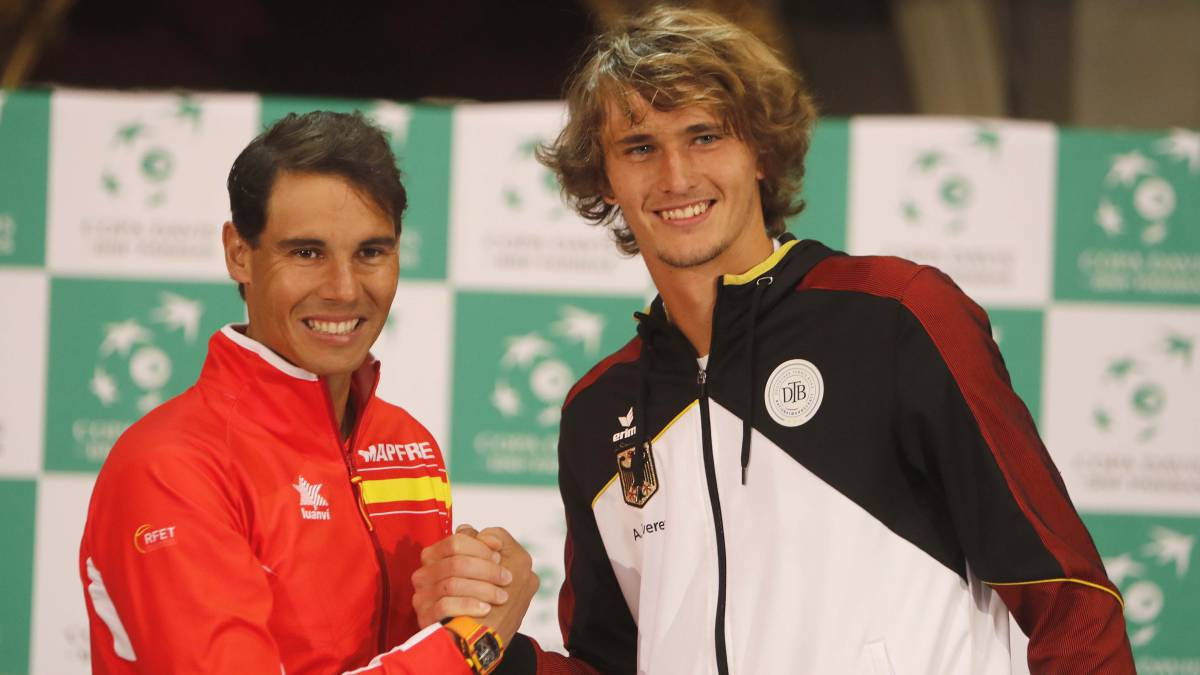 Nadal returns for Spain against Zverev-led Germany