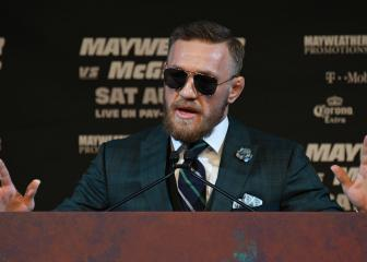 McGregor charged by NYPD after bus incident