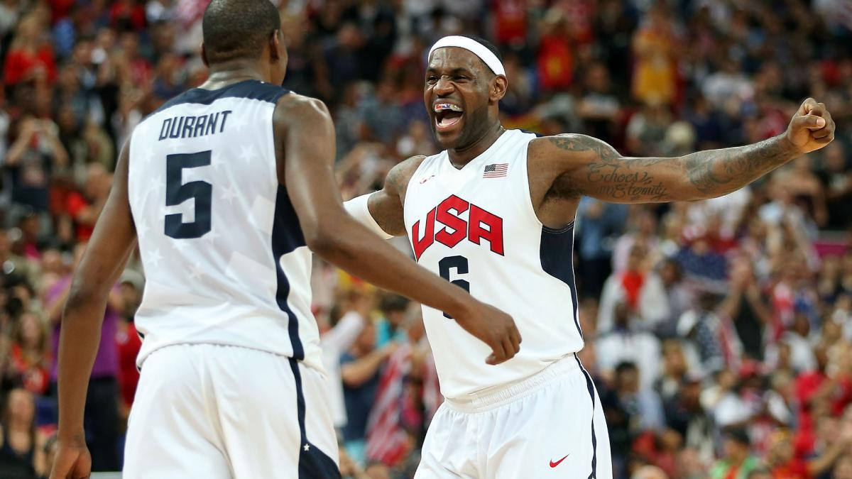 LeBron James leads USA national team pool ahead of 2020 Olympics