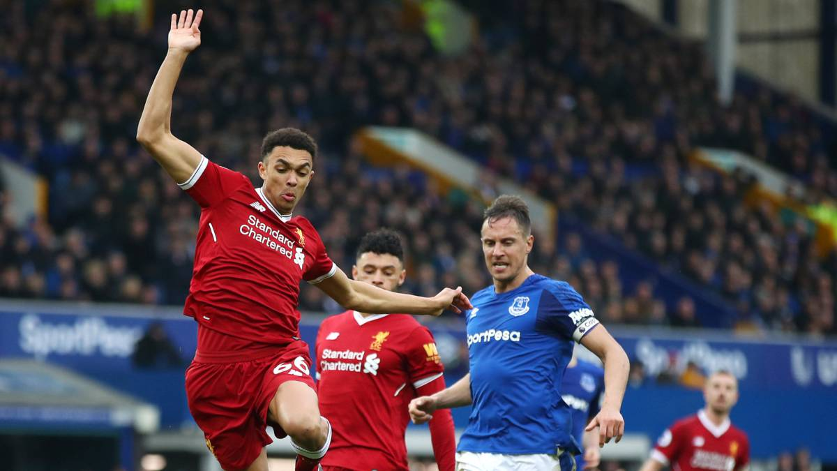 Liverpool splutter without Salah in Everton stalemate