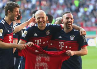Bayern's Rummenigge hints at Robben and Ribery renewals