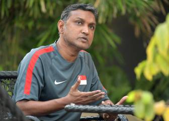Sundram steps down as Singapore's head coach
