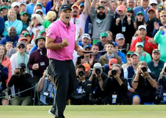 Reed holds off sensational Spieth and surging Fowler to win dramatic Masters