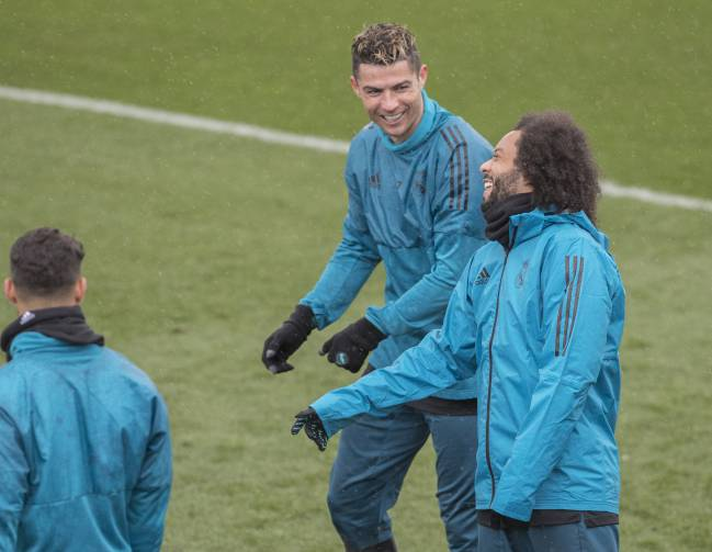 Influencers | Cristiano and Marcelo formed part of the Real Madrid decision.