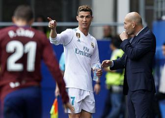 Zidane ready to enjoy best of Ronaldo once more in Juve tie