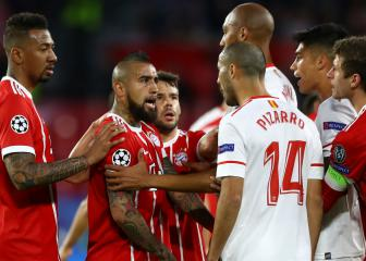 Vidal and Alaba to miss Sevilla clash, confirms Heynckes