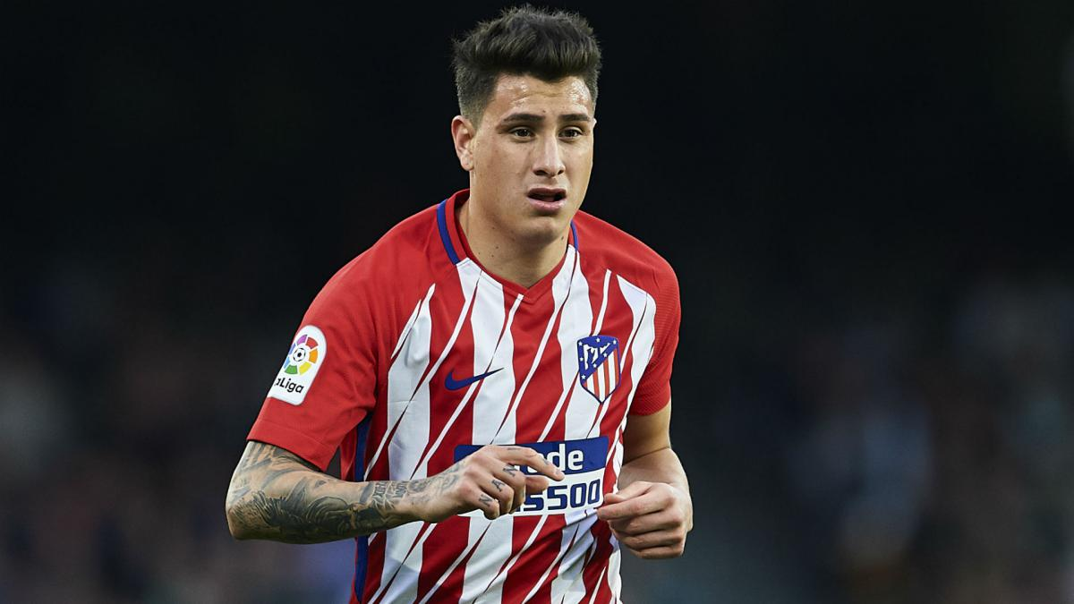 Atletico's Gimenez available following ankle injury