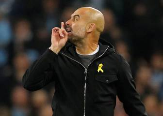 Angry Guardiola sent to stands after disallowed goal protests
