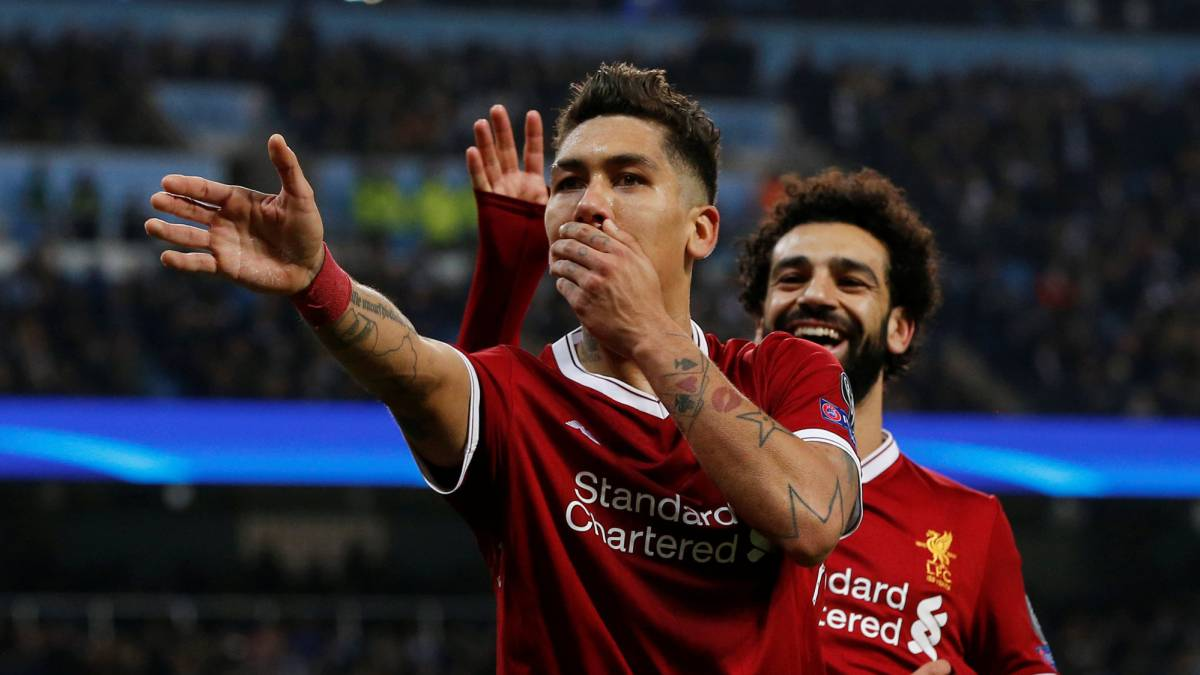 Salah and Firmino break Liverpool European goals record