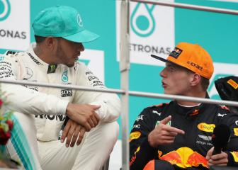 Verstappen brushes off Hamilton insult
