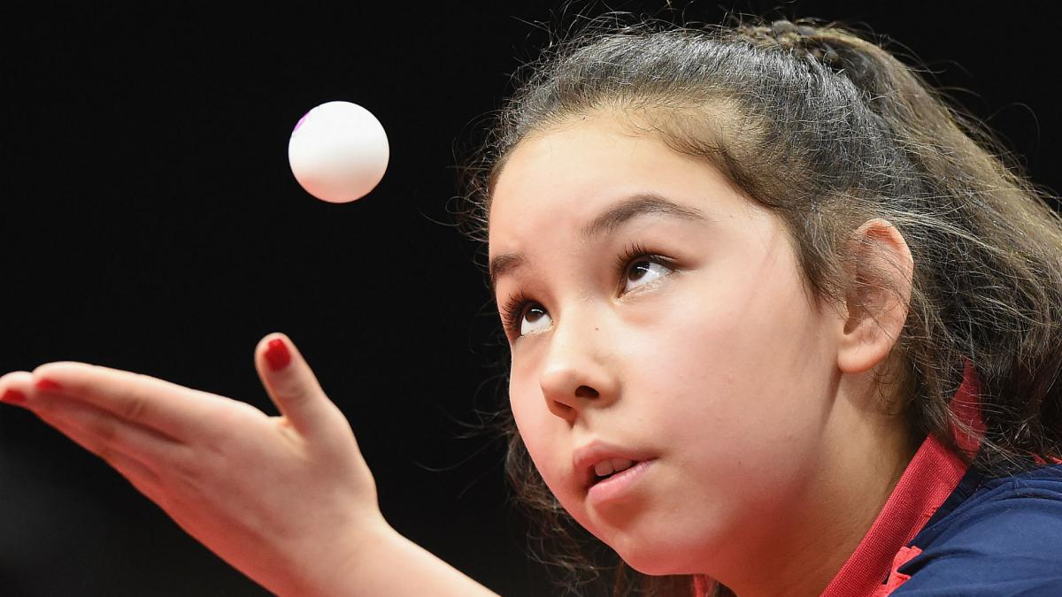 Eleven-year old Hursey schools Nambozo in Commonwealth singles bow