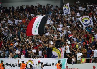 Iraq's football fans enjoy first international club tie in over 20 years