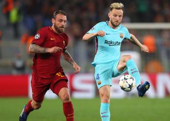 Rakitic fractured finger against Roma, Barca confirm