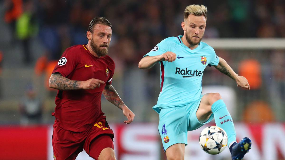 Rakitic fractured finger against Roma, Barça confirm