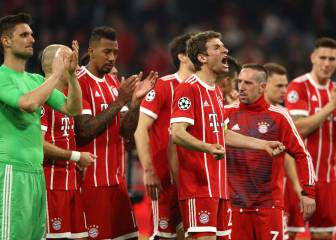 Bayern hold off Sevilla to seal semi-final spot