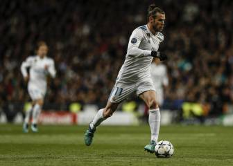 Bale taken off at half-time with Madrid two goals down