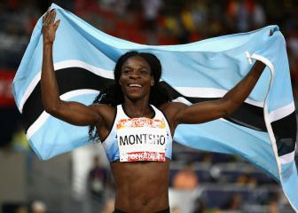 Bolt touches down, Montsho back among the golds