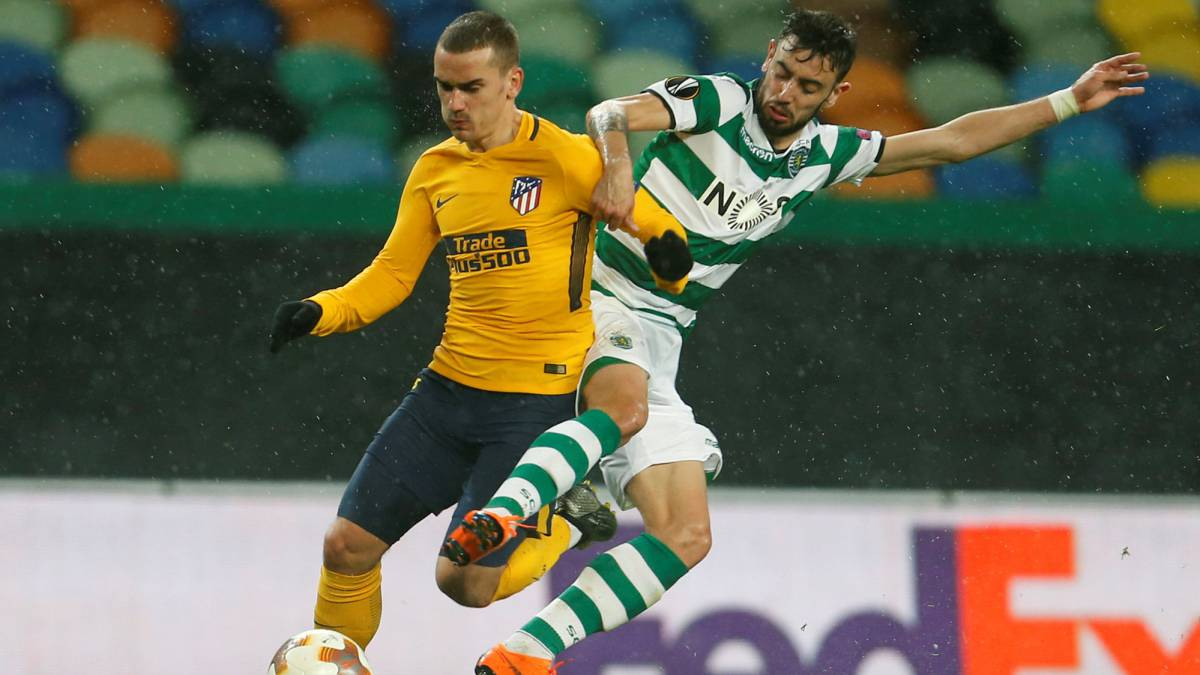 Sporting CP 1-0 Atlético Madrid Europa League
