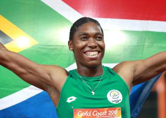South Africa's Caster Semenya cruises to 1500m gold