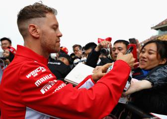Vettel: Title talk is