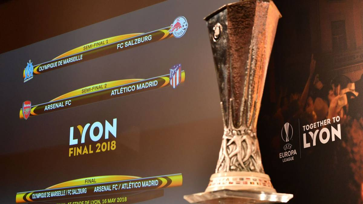 Europa League semi-finals: Atlético Madrid to face Arsenal