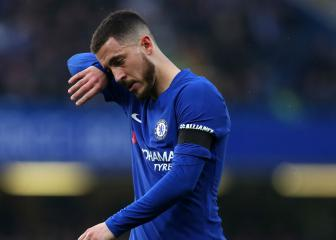 Hazard 'not happy' while Chelsea flounder