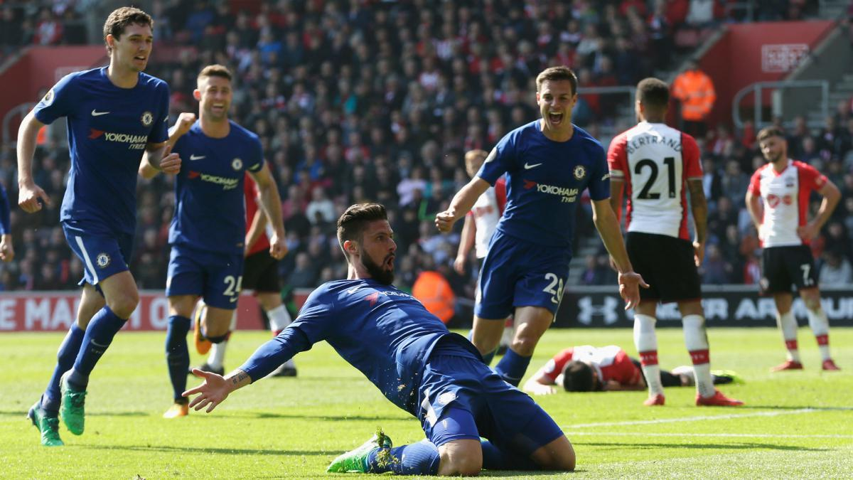 Giroud relieved to break Chelsea league duck with late heroics