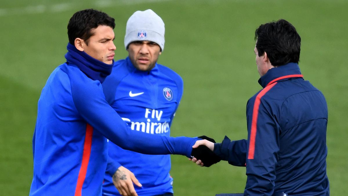 Thiago Silva wants Emery to stay at PSG