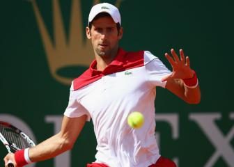 Flawless Djokovic stops the rot on the Monte Carlo clay