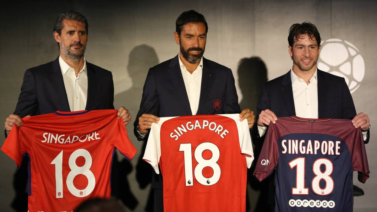 Singapore to host Arsenal, Atlético Madrid and PSG for 2018 International Champions Cup