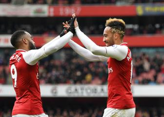 Aubameyang 'wasn't sure' about Lacazette