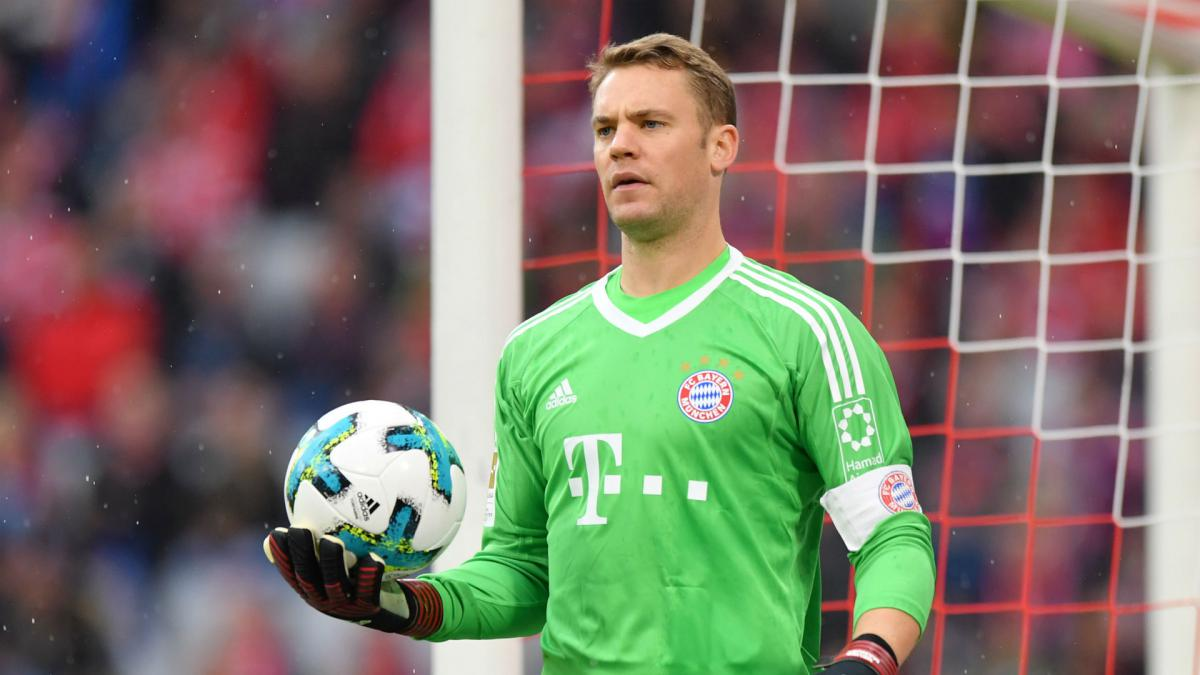 Neuer returns to Bayern training after seventh-month absence