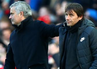 Conte defends Chelsea record compared to Mourinho's