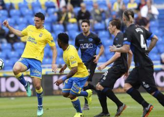 Las Palmas relegated from LaLiga after 4-0 Alaves demolition