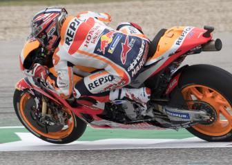 Márquez to start fourth after being stripped of Austin pole