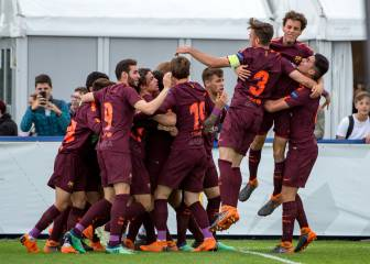 Barcelona beat Chelsea to win their second Youth League title
