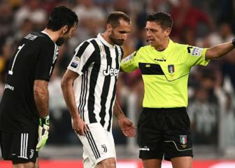 Blow for Juve as Chiellini muscle tear is confirmed