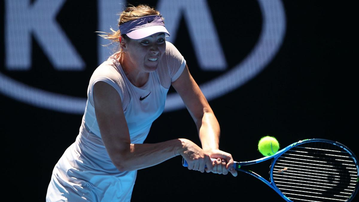 Sharapova not short on desire despite struggles